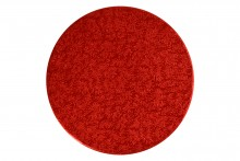 "5"" Round Red Double Thick Cards Pack of 10"
