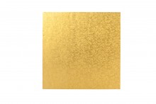 "6"" Square Double Thick Cards - Gold"