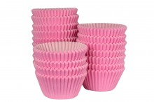 Bulk Packed: Professional Muffin Cases - Pink
