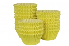 Bulk Packed: Professional Muffin Cases - Yellow