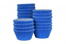 Bulk Packed: Professional  Muffin Cases - Blue