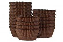 Bulk Packed: Professional Muffin Cases - Brown