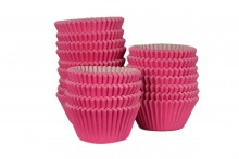 Bulk Packed: Professional Muffin Cases - Hot Pink