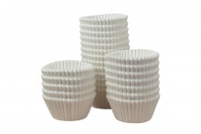 Professional Quality Bulk Muffin Cases - White