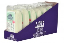 M & B Sugarpaste SRP : Ivory - 6 x 500g BBE January 2020