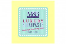 M&B Luxury Sugarpaste - Pastel Lemon - 10kg BBE October 2020