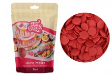 FunCakes - Deco Melts - Red - 250g