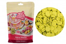 FunCakes - Deco Melts - Lime Green - 250g