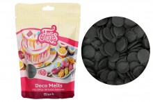 FunCakes - Deco Melts - Black - 250g