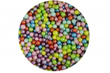 Sugar 4mm Pearls: Rainbow Mix