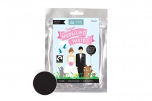 Fairtrade Sugar Modelling Paste: Bow Tie Black
