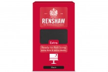 Renshaw : RTR EXTRA Sugar Paste - 6 x 1kg - Black