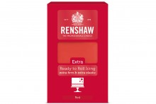 Renshaw : RTR EXTRA Sugar Paste - 6 x 1kg - Red