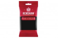 Renshaw : RTR Sugar Paste - 250g - Jet Black