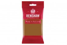 Renshaw : RTR Sugar Paste - 250g - Teddy Bear Brown