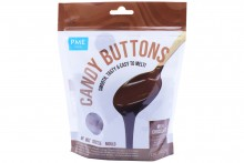 Chocolate Candy Buttons: Milk Chocolate Flavoured