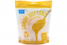 Yellow Candy Buttons: Vanilla Flavoured