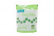 Light Green Candy Buttons: Vanilla Flavoured