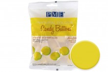 PME : Natural Colour Candy Buttons - Yellow