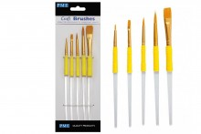 Craft Brush Set - Set of 5 Brushes