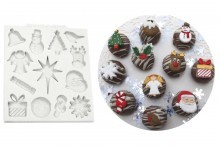 Katy Sue Moulds : Christmas Embellishments