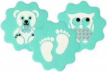 Cupcake & Cookies Stencil: Baby