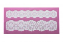 Cake Lace Mat : Broderie Anglais