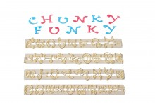 Funky Chunky Alphabet & Number Cutter