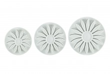Sunflower Plunger Cutter- Set of 3