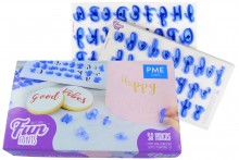 PME : Fun Fonts Alphabet Embossing Set - Collection 1