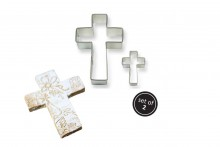 Metal Cookie & Cake Cutter: Cross