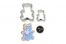 Metal Cookie & Cake Cutter: Teddy