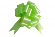 Pull Bow: Lime Green