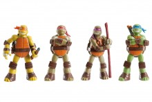 Licensed Figures: Teenage Mutant Ninja Turtles
