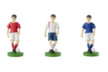 Resin Figure: Male Footballers 3 colours