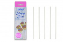 "PME : 16cm / 6.3"" Lollipop  Sticks - Pack of 35"