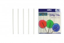 "PME : 9.5cm / 3.7"" Lollipop  Sticks - Pack of 75"