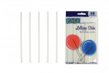 "PME : 11.5cm / 4.5"" Lollipop  Sticks - Pack of 50"
