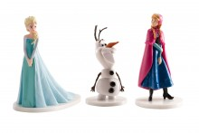 Licensed Figures: Frozen - Elsa, Anna & Olaf