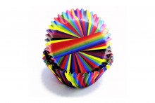 Snazzy Stripes Baking Cases - pack of 60