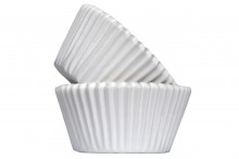 Professional Quality Muffin Cases - White