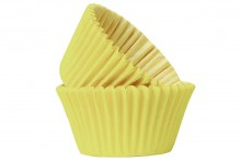 Professional Quality Muffin Cases - Yellow