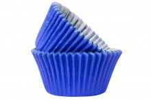 Professional Quality Muffin Cases - Blue