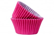 Professional Quality Muffin Cases - Hot Pink
