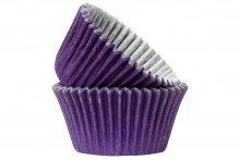 Professional Quality Muffin Cases - Purple