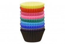 Professional Muffin Cases - Assorted Colours