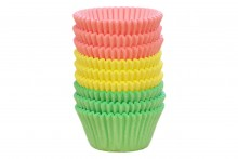 Professional Muffin Cases - Assorted Pastel Colours