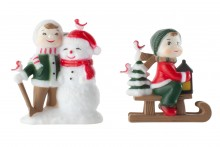 Snowchildren - Set of 2