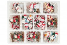 38 Piece Assorted Christmas Decorations