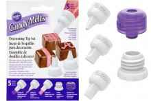 Wilton : Candy Melts Decorating Tip Set